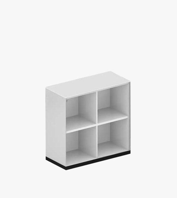 空格文件櫃 - 四格