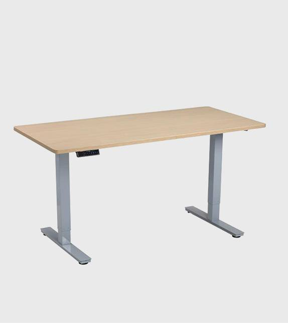 電動升降桌 (高69-115cm) – 2節雙摩打連桌面