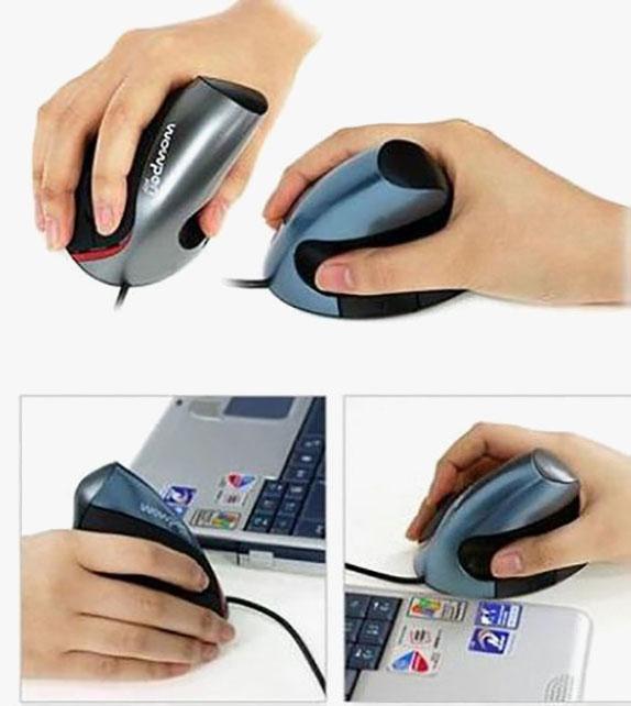 無線人體工學光學滑鼠