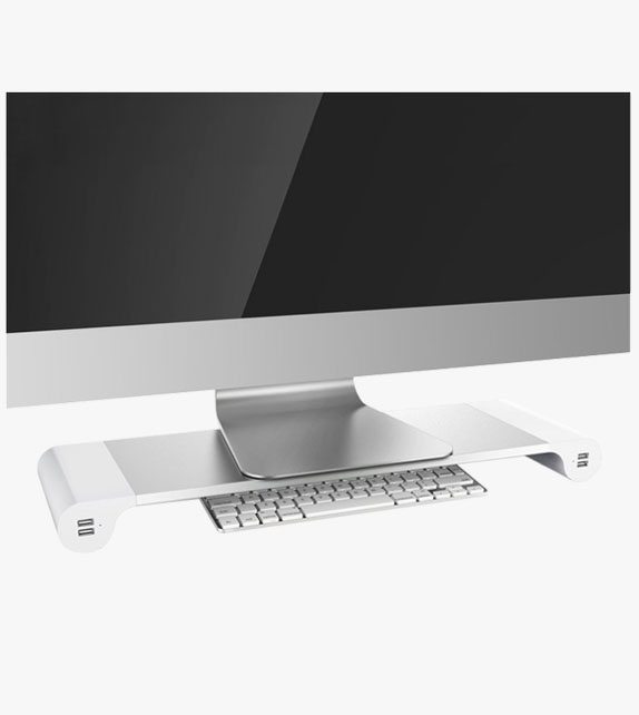 鋁合金 螢幕架 (連USB插頭)