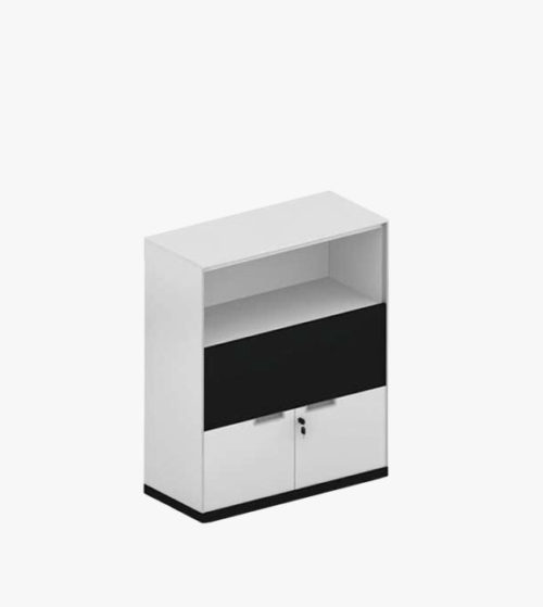 空格/抽屜 雙門文件櫃