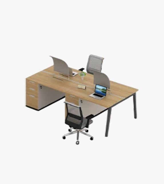 組合式辦公桌 連桌下儲存櫃