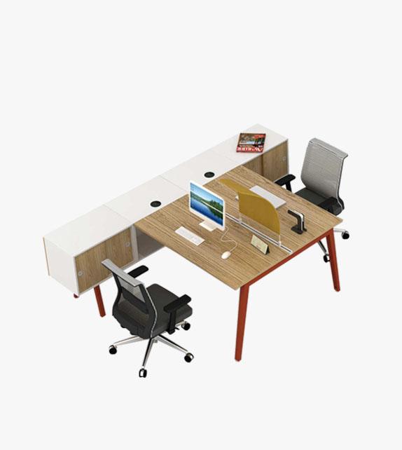 組合式辦公桌 連副櫃
