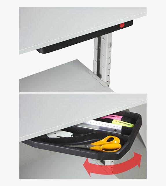 桌底文具收納架