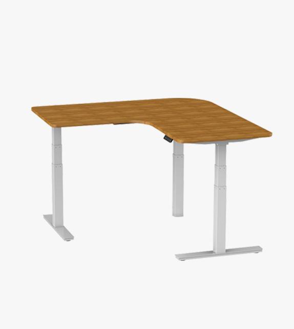 電動升降桌 –  L型 連桌面
