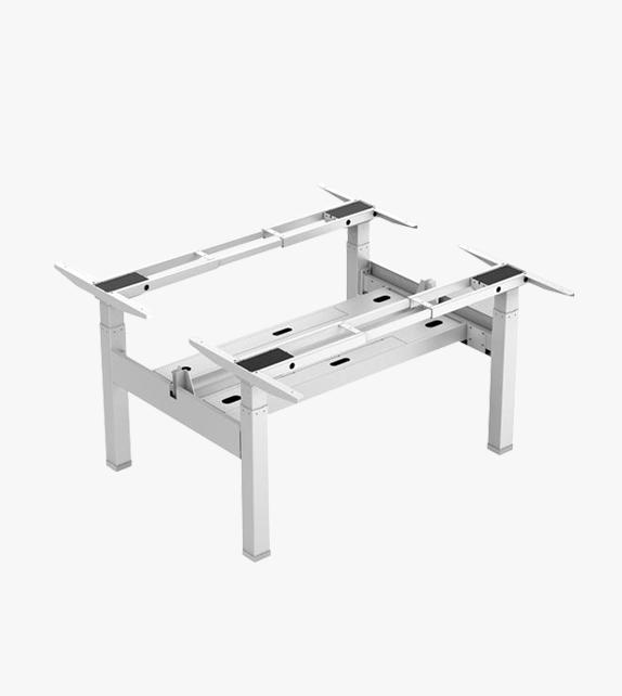 電動升降桌 –  背對背 連雙桌面
