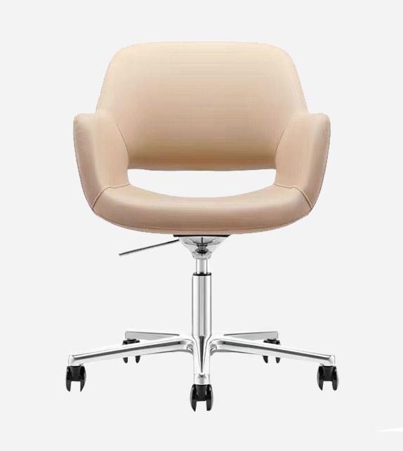 Disk 真皮會議椅