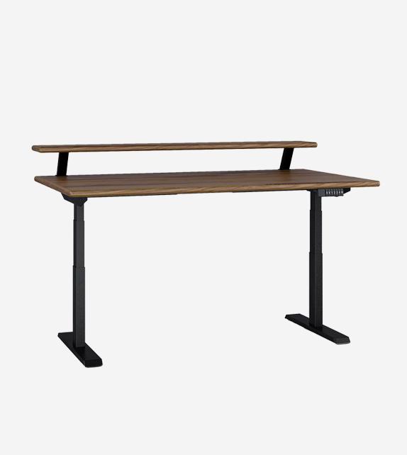 雙層電動升降桌