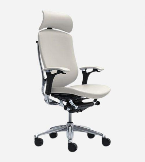 Okamura Contessa II 日本製全真皮椅