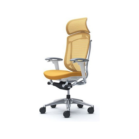 Okamura Contessa II 日本製網背布座人體工學椅