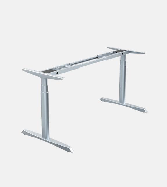 電動升降桌淨桌架 雙摩打 橢圓形桌腿