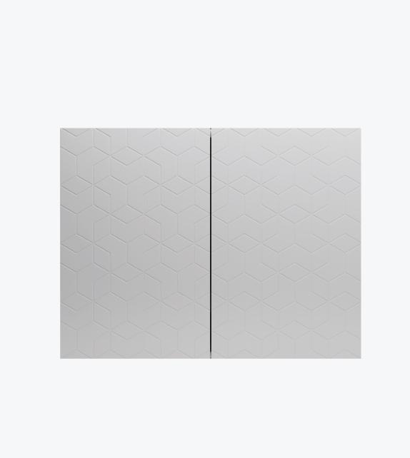 雙門雙層儲物櫃